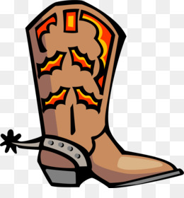 Boot clipart boat shoe. Cowboy spur clip art