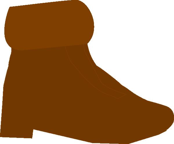 Brown Boot Clip Art at Clker