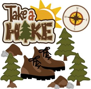 Free and hiking graphics. Boot clipart camping