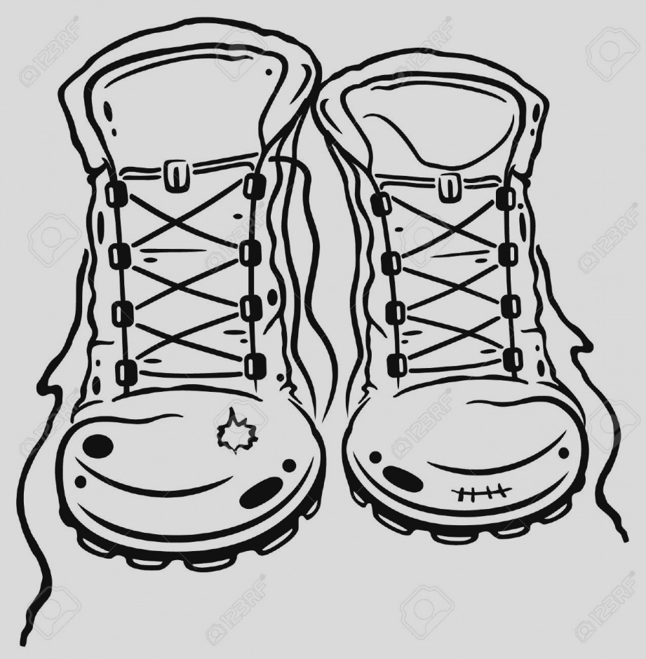 Boot clipart camping. Latest of hiking clip