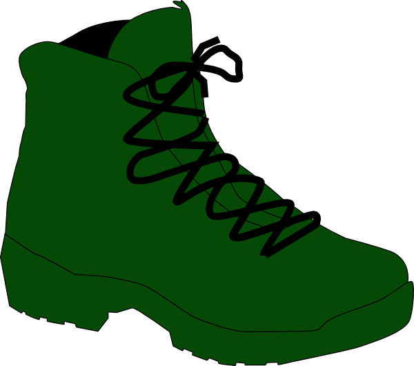 Soldiers clipart shoe. Army boot clip art