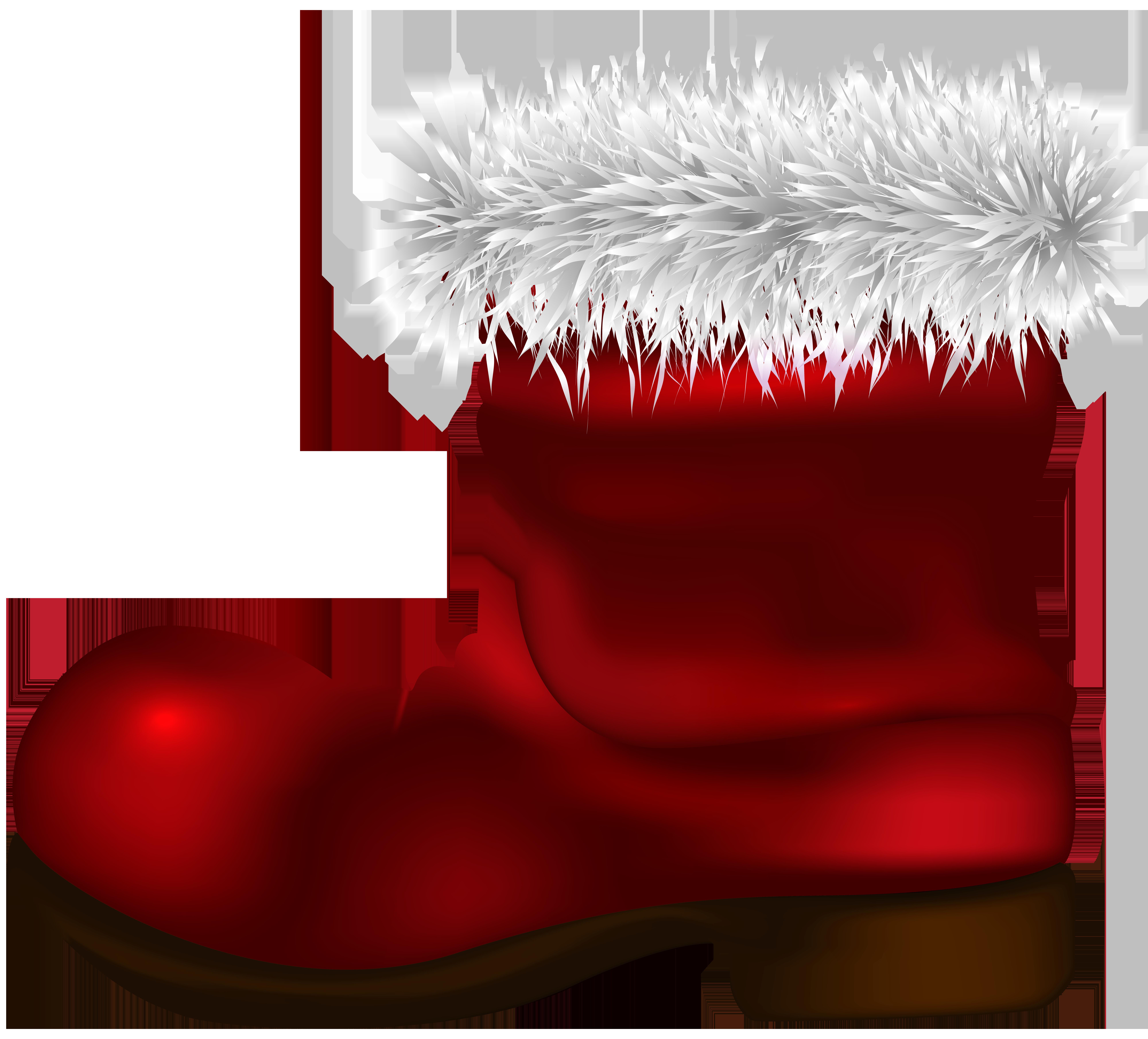 Boot png clip art. Boots clipart santa claus
