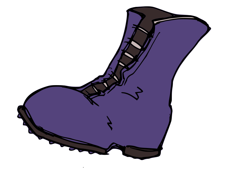 Converse clipart blue clipart. Boot black and white