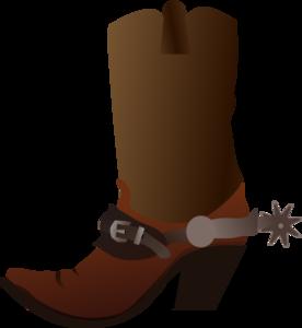 Clip art at clker. Boot clipart cowboy boot