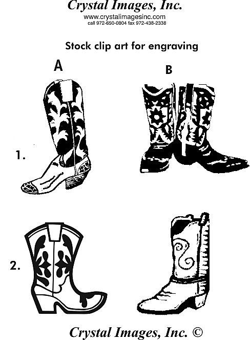 Cowboy clipart cowboy boot. Free outline boots