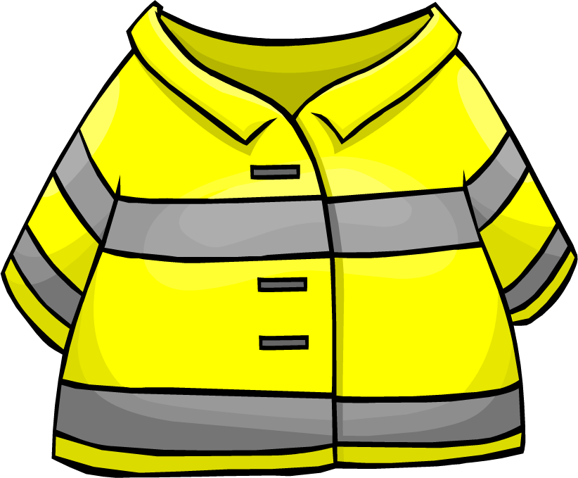 Firefighter jacket club penguin. Costume clipart clip art