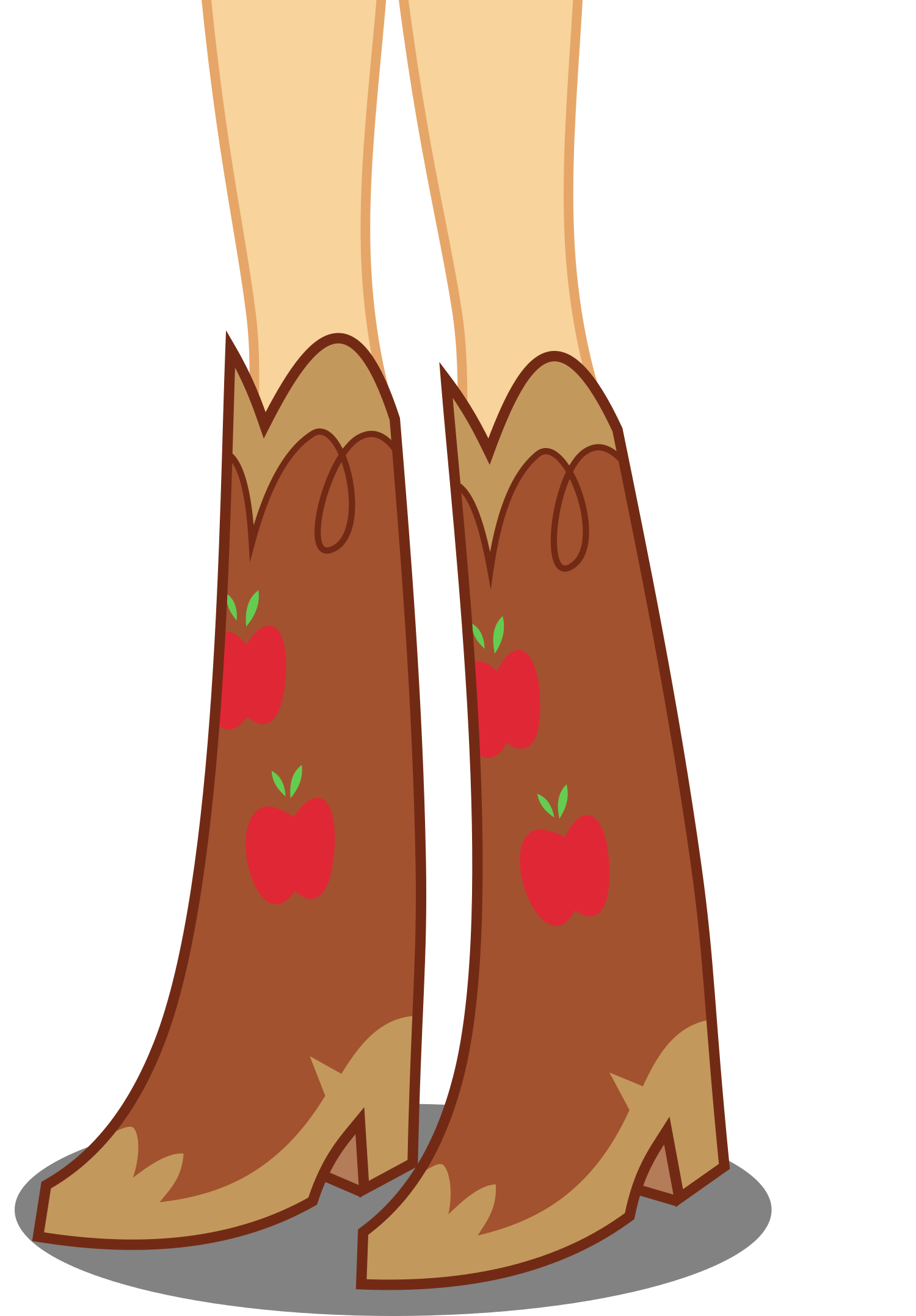 Boot clipart girl boot. Image applejack s boots