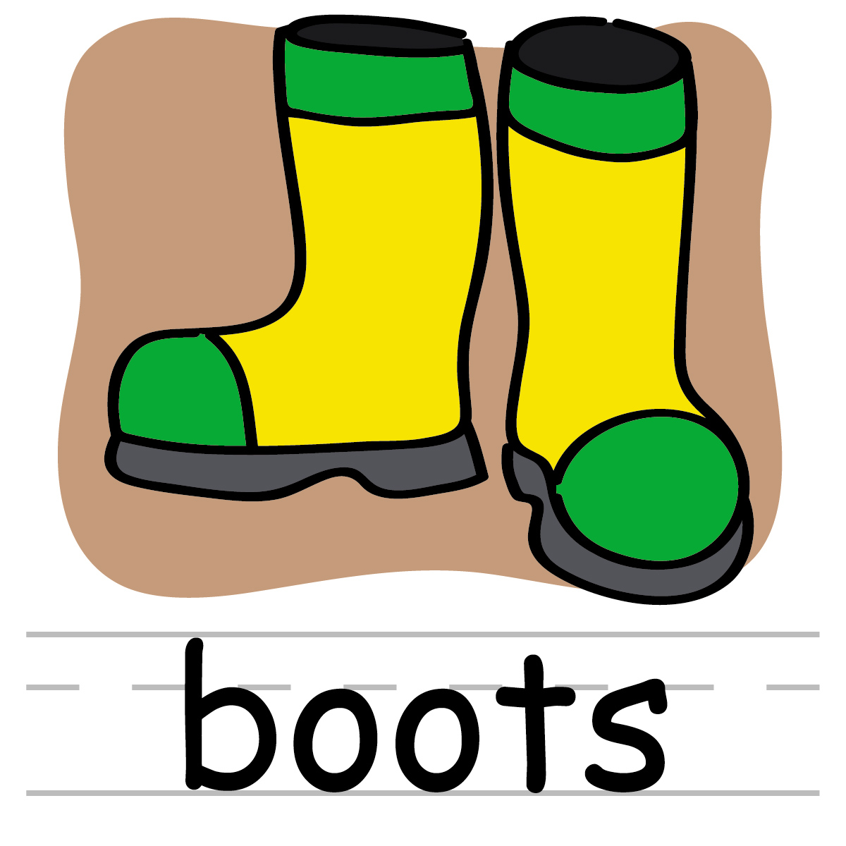 Boots fashion pic clip. Boot clipart girl boot