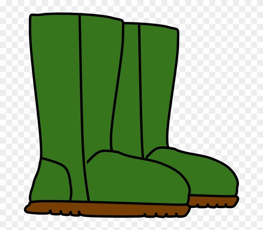 Boot clipart green boot. Boots snow rain