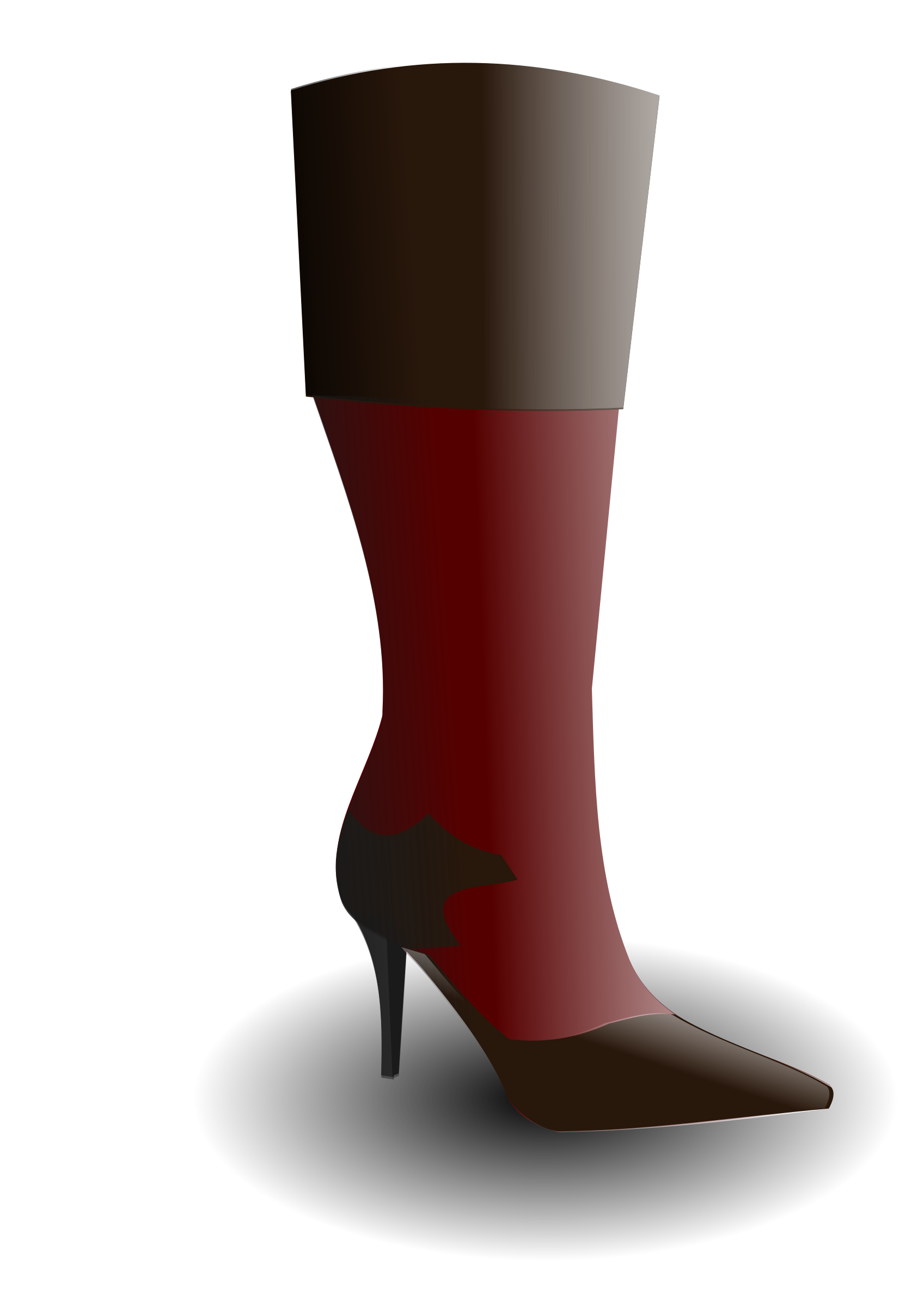 Big image png. Boot clipart high boot