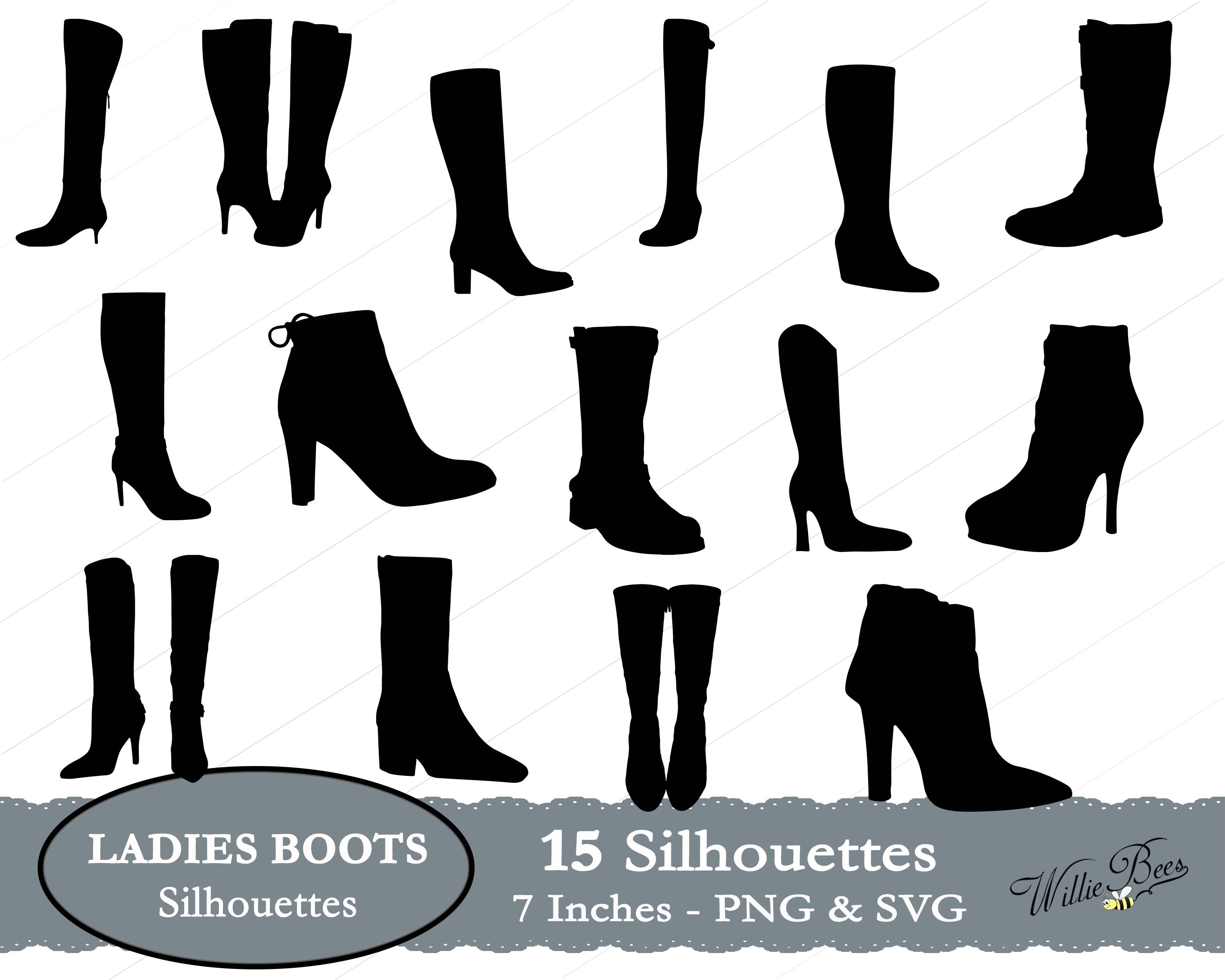 Boots svg ladies clip. Boot clipart high boot