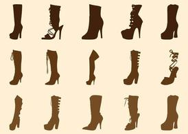 Boot clipart high boot. Free heel boots graphics