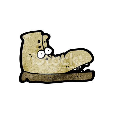 Cartoon stock vector freeimages. Boot clipart old boot