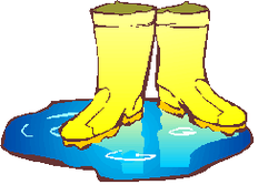 Rain boots panda free. Boot clipart rubber boot