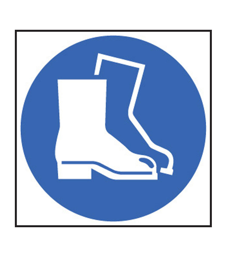Symbol sign ppe signs. Boots clipart safety boot