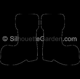 Clipart santa boot. Pin by muse printables