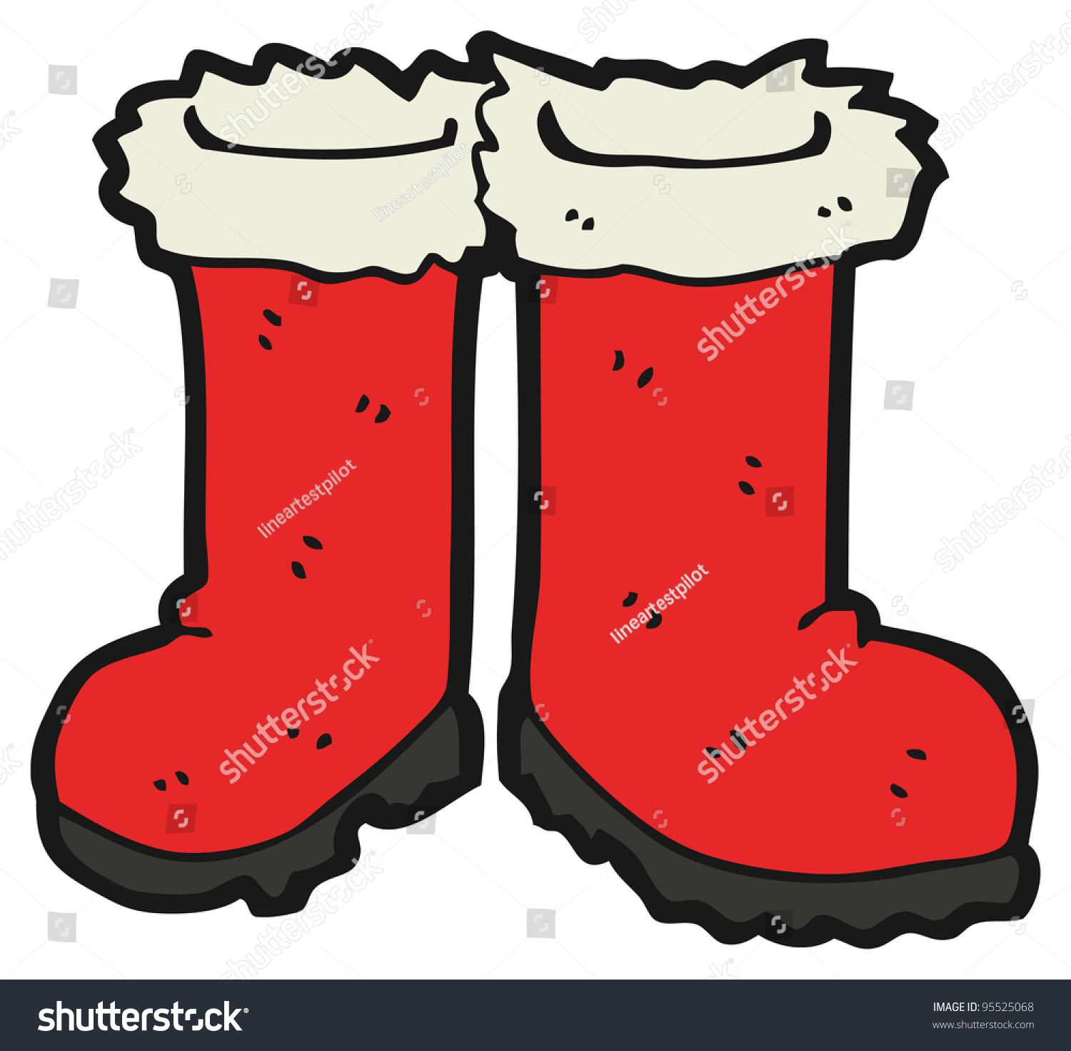 collection of high. Boots clipart santa claus