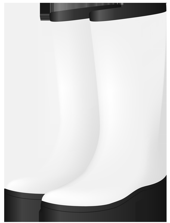White rubber boots png. Boot clipart shrimp