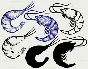 Etsy boiled svgshrimp clipartshrimp. Boots clipart shrimp