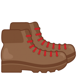 Hiking Boot Silhouette at GetDrawings