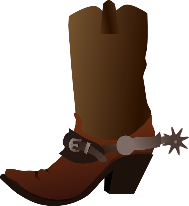 Cowboy boot shoe transparent. Cowgirl clipart mudflap girl