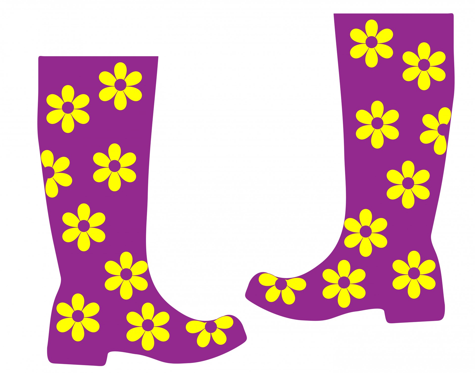 Rain boots free stock. Boot clipart welly boot