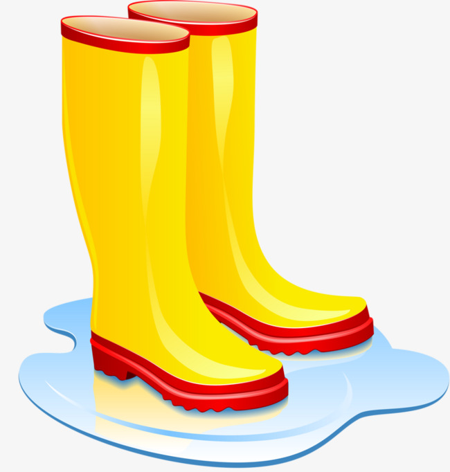 Boot clipart welly boot. Wellies hand painted animation
