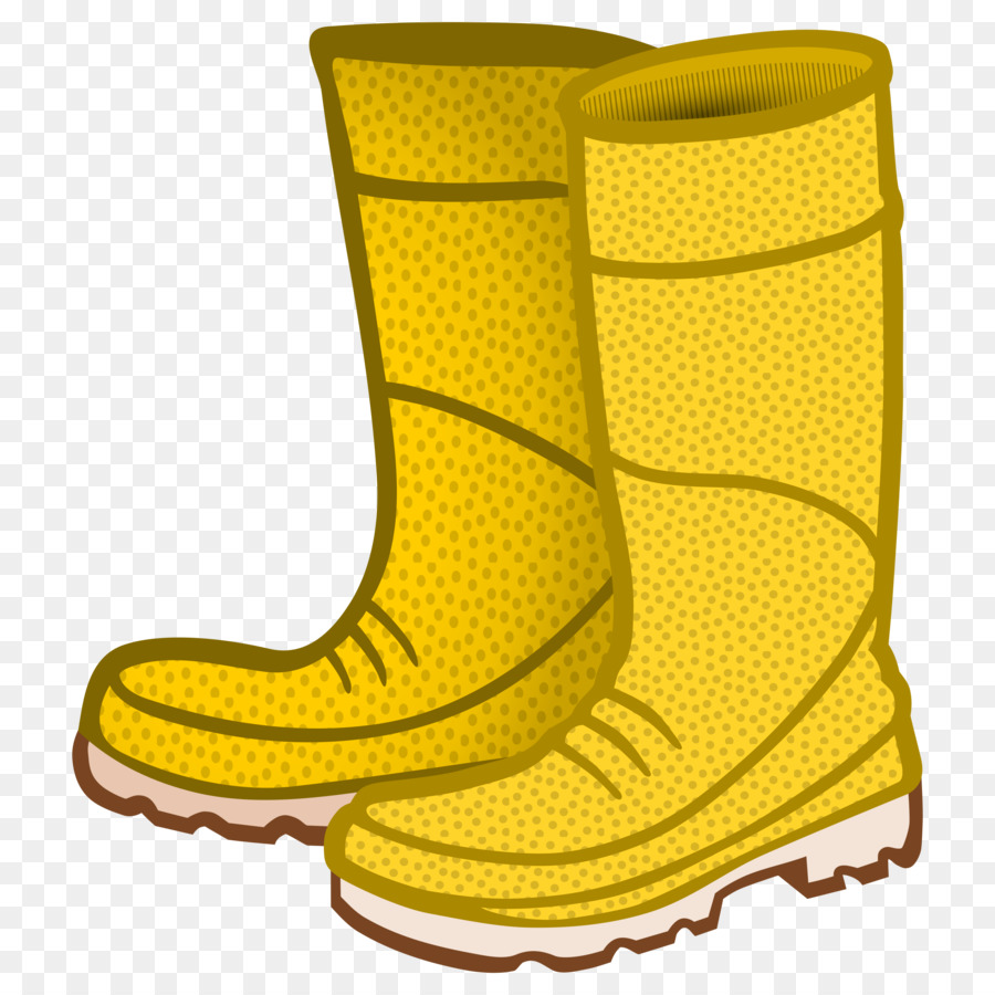 Wellington clip art boots. Boot clipart yellow boot