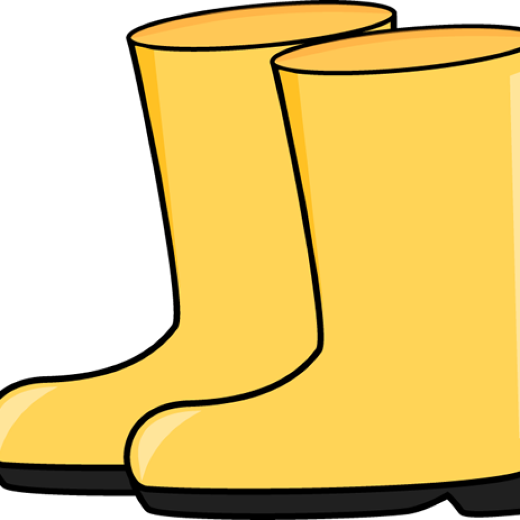 Boots thing rain . Boot clipart yellow boot