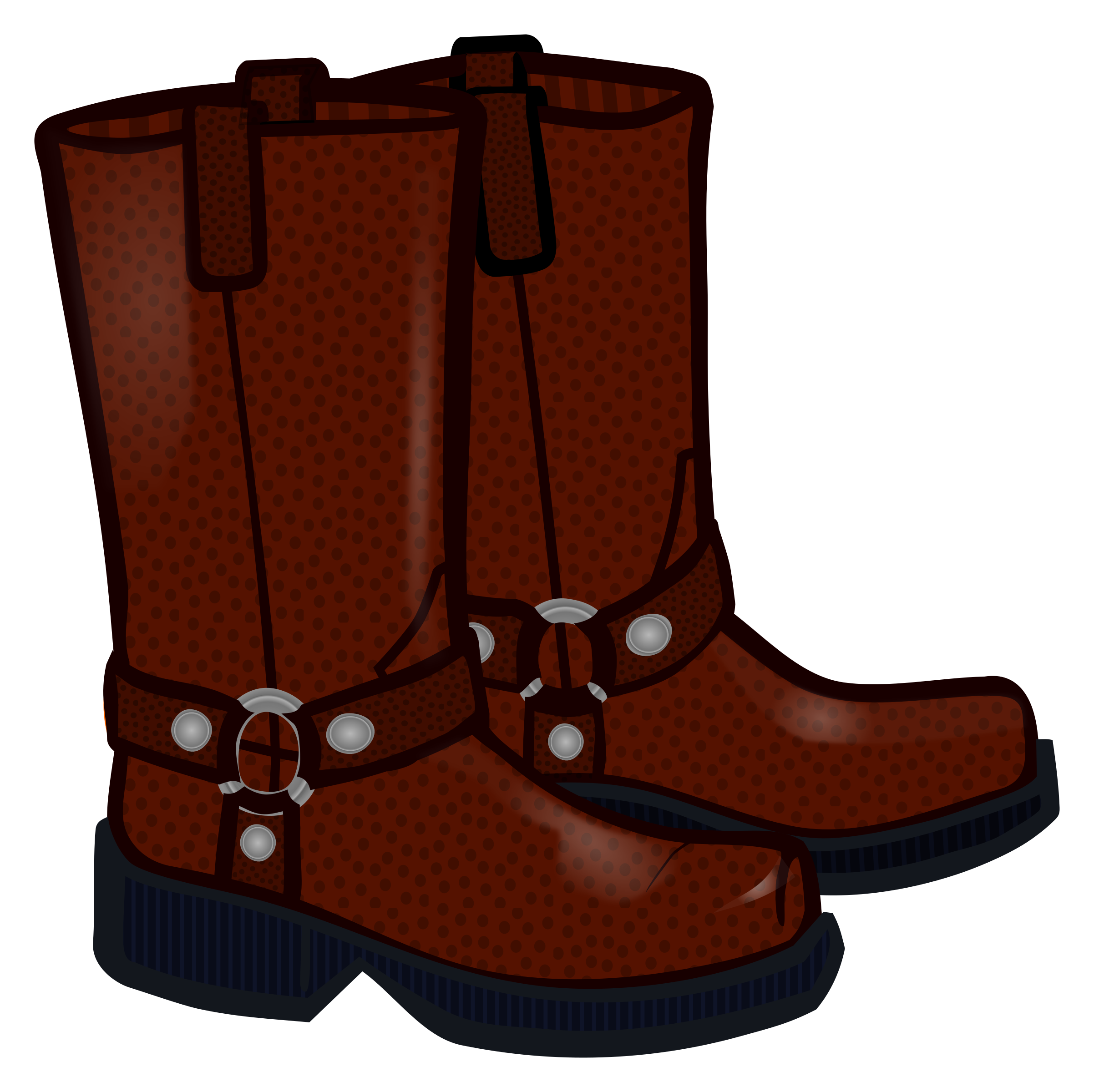 Boots clipart. Coloured big image png