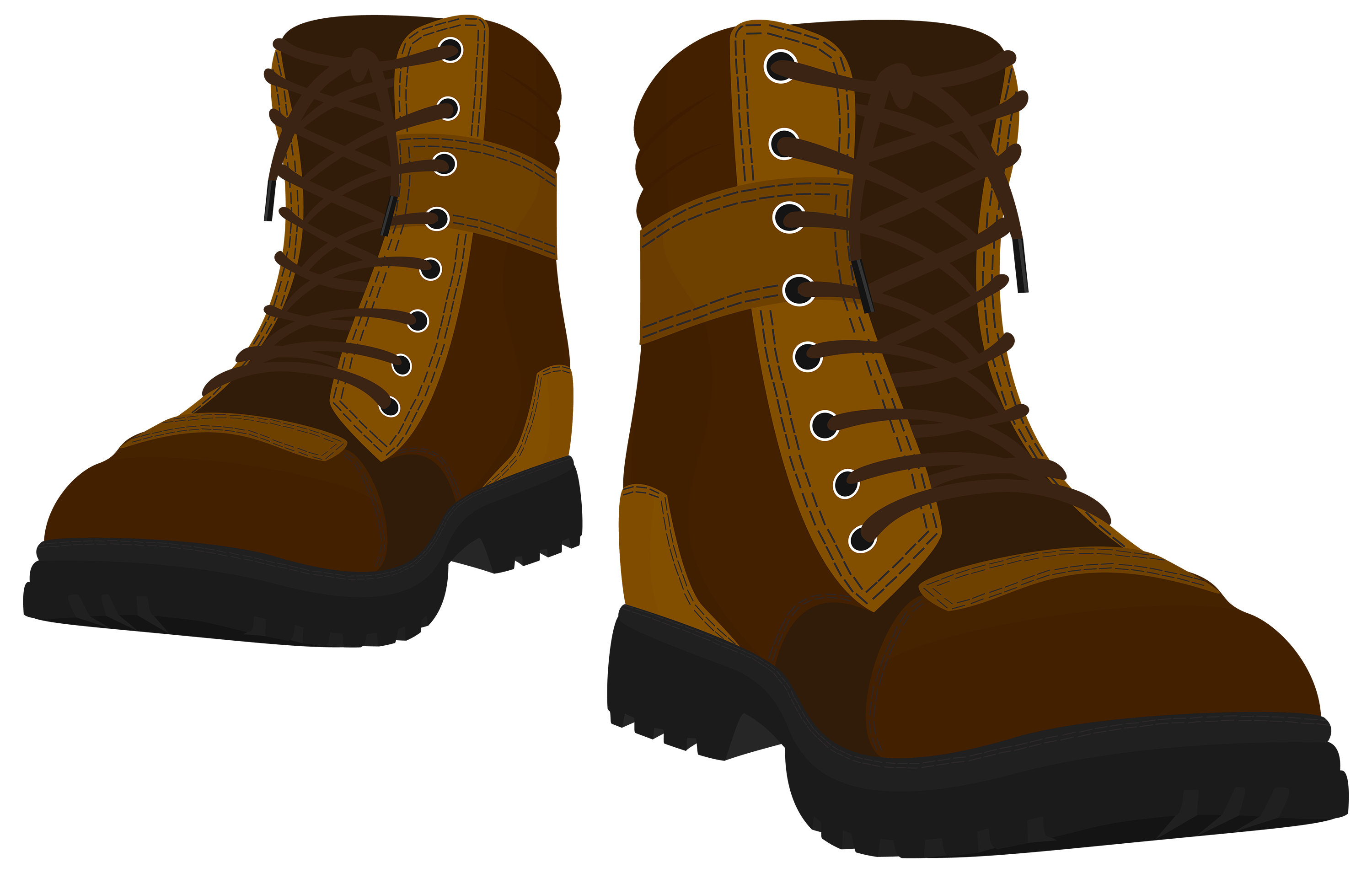Brown male boots png. Telephone clipart ancient