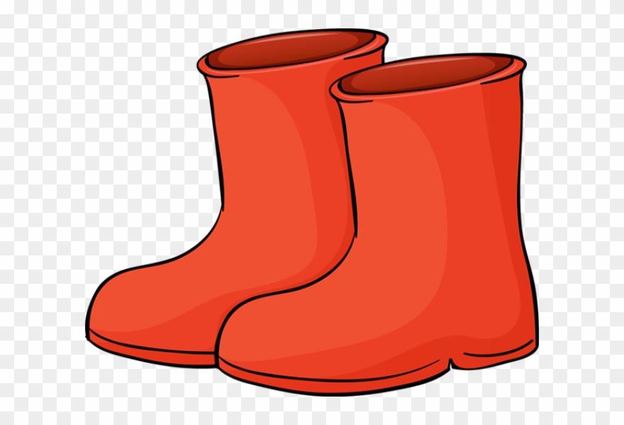 Boots clipart. Clip art of a