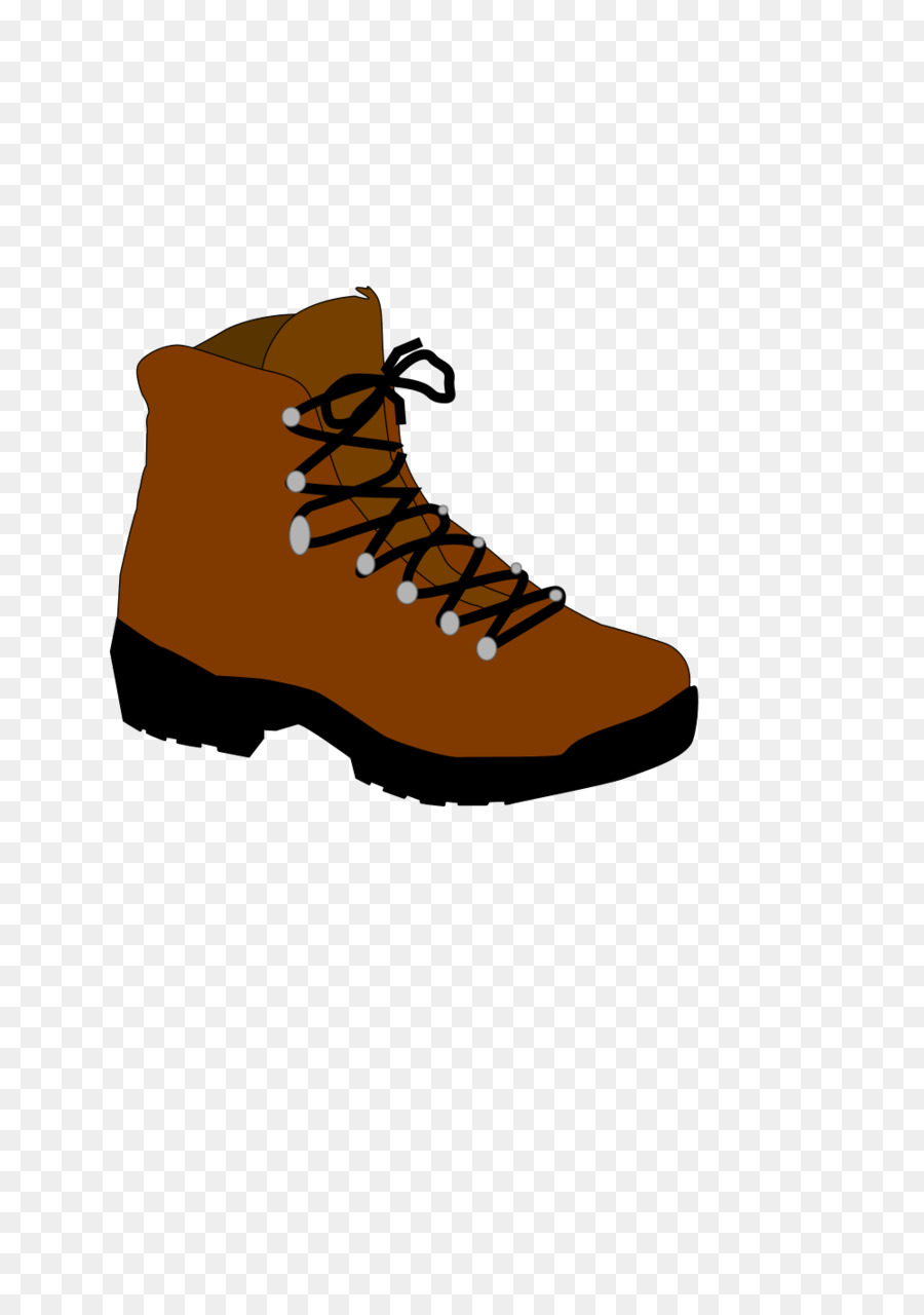 Snow background hiking product. Boots clipart camping