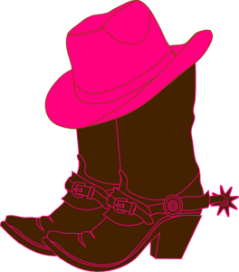 Cowgirl boots clip art. Boot clipart girl boot
