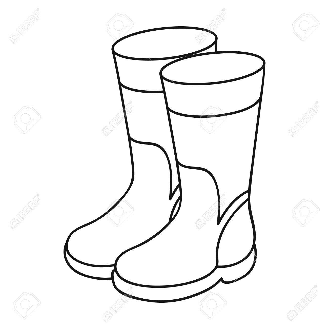 Rain at getdrawings com. Boots clipart drawing