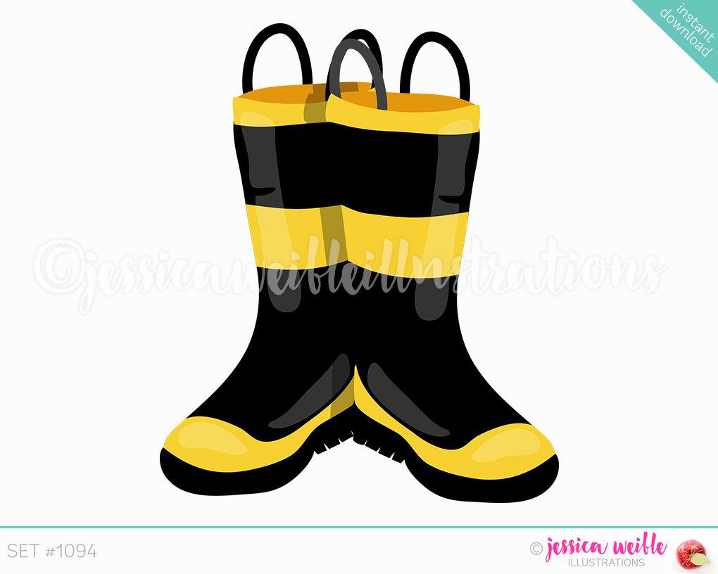 Fire Boots Clip Art