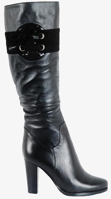Boot clipart high boot. Black boots women s