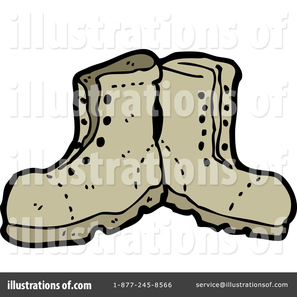 Boots clipart illustration. By lineartestpilot royaltyfree rf