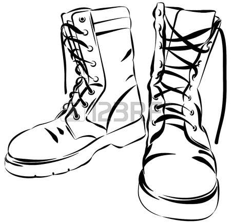 Combat free download best. Boots clipart illustration
