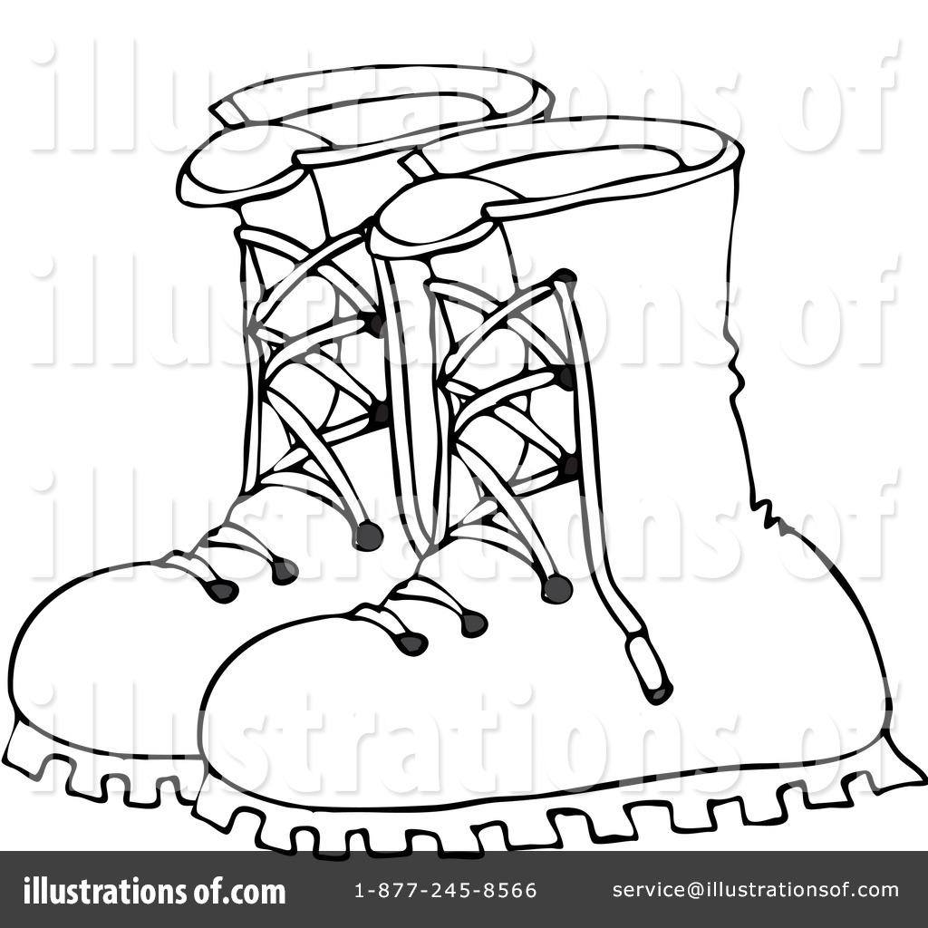 By djart royaltyfree rf. Boots clipart illustration
