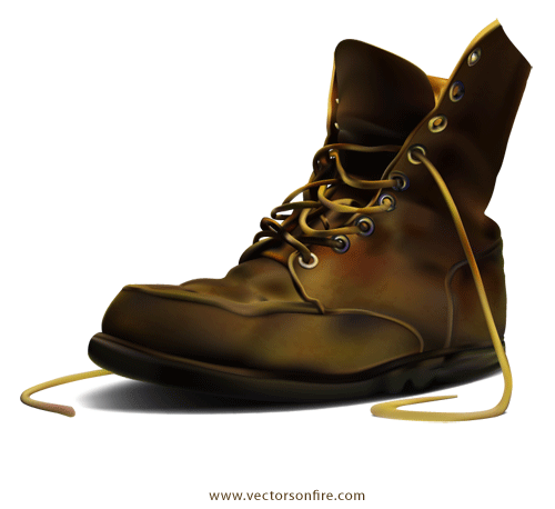Free army by irmi. Boot clipart old boot