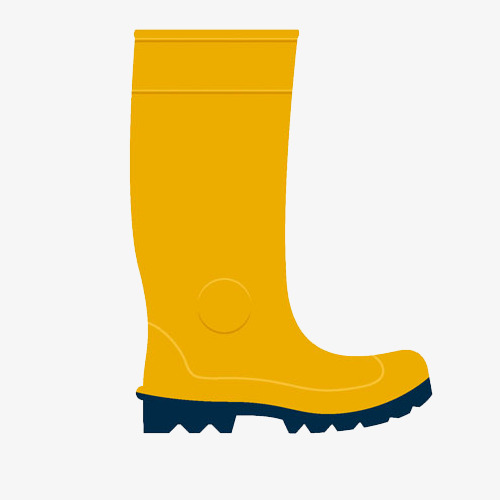 A rain boots real. Boot clipart yellow boot
