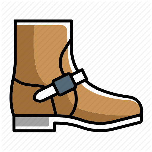 Boots clipart safety boot. Iconfinder footwear lineal color