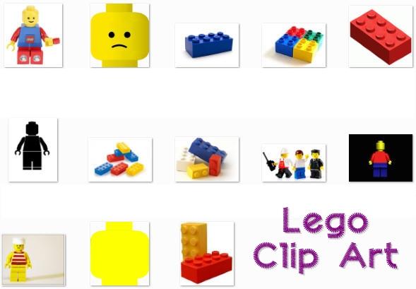 Free lego cliparts borders. Border clip art