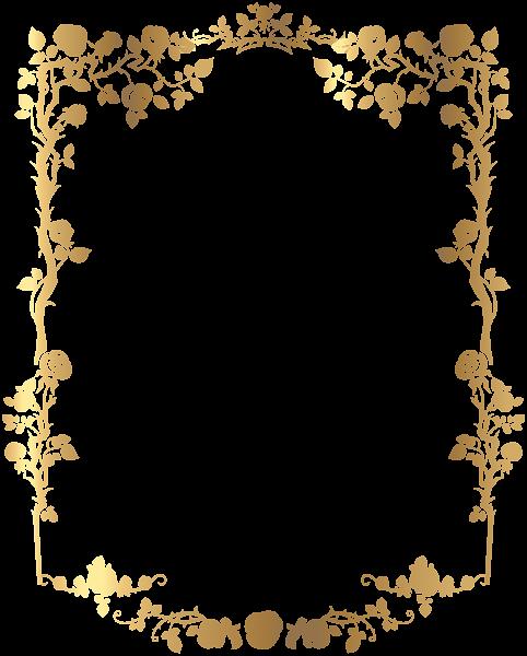 Decorative rose clip art. Invitation frame png