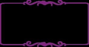 Border clip art decorative. Purple at clker com