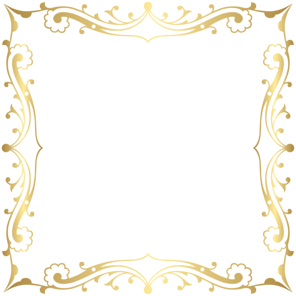 Clipart frames glitter. Decorative border frame transparent