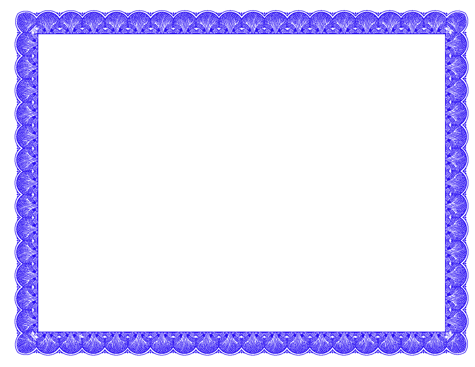 Fancy ideal vistalist co. Certificate border png