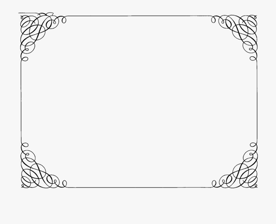 Boarder clipart fancy. Pin border frame png