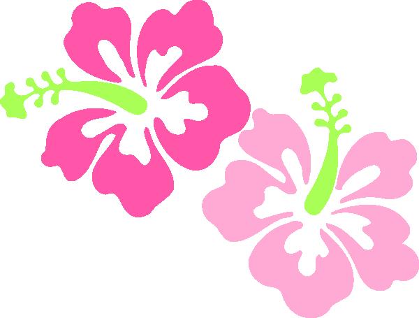 Hawaiian borders clipart panda. Border clip art flower